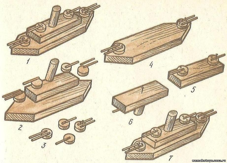 Простейшие поделки из дерева своими руками
