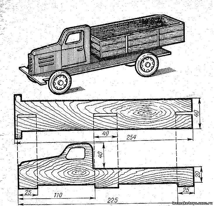 Схемы поделок из дерева 63