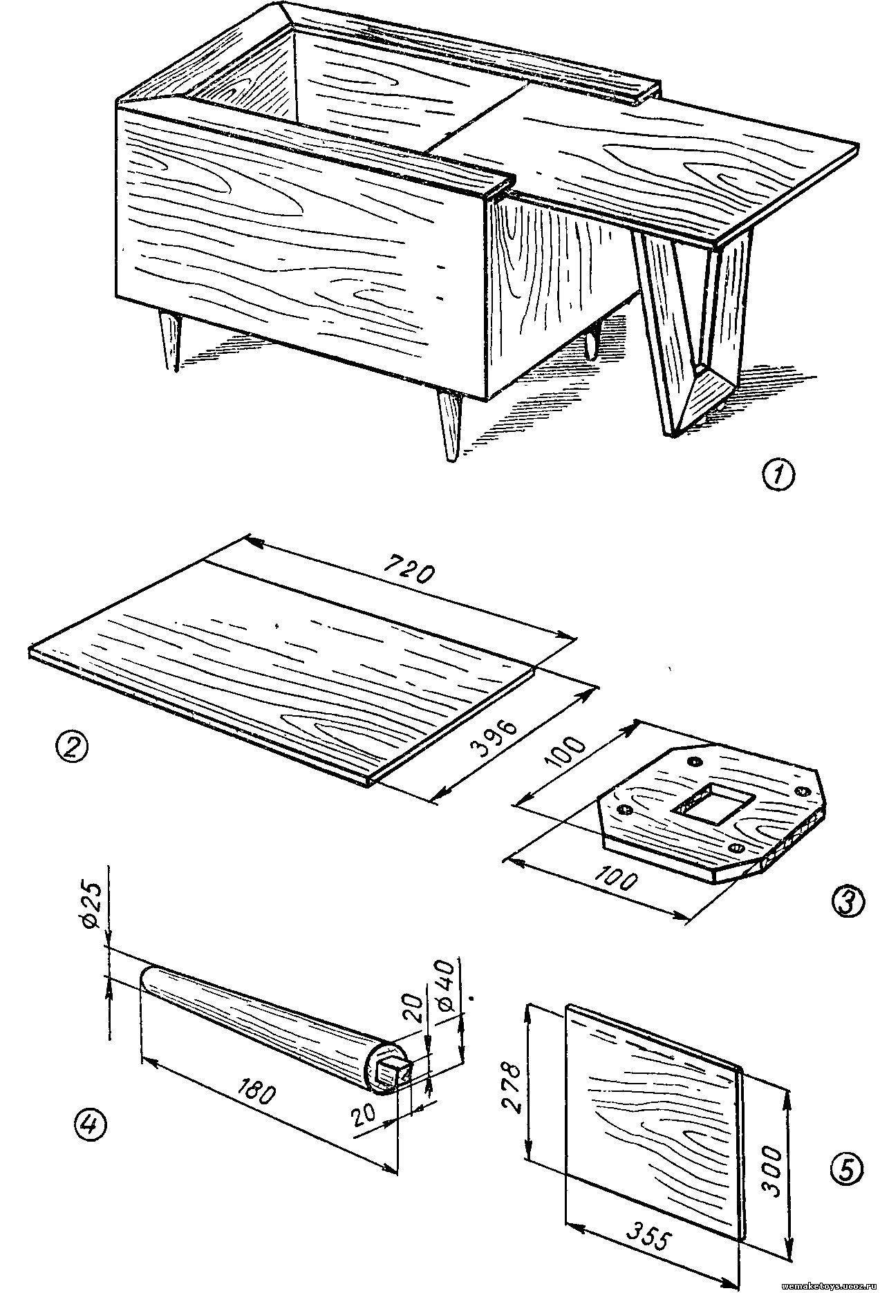 Ящик своими руками чертежи фото 35