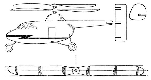 Вертолет своими руками с чертежами
