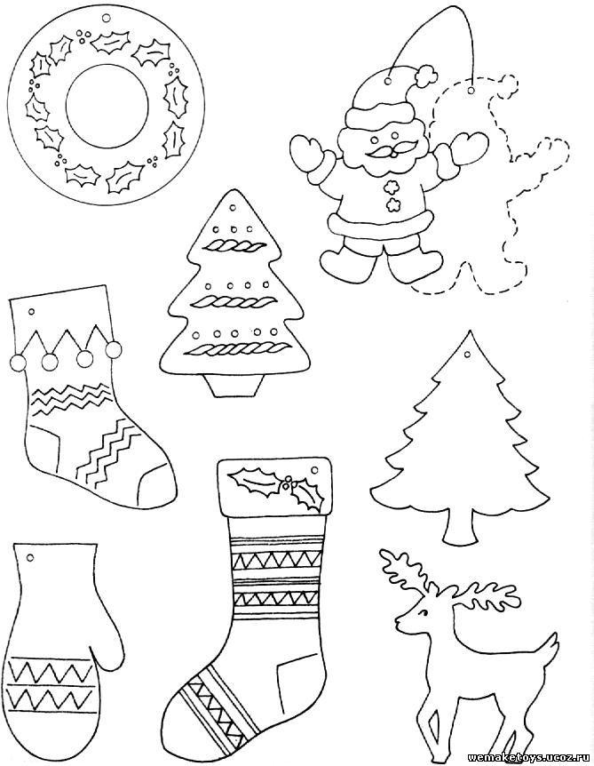 Новогодние поделки из бумаги своими руками - Happy New Year
