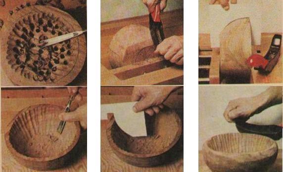 Как сделать деревянную миску своими руками