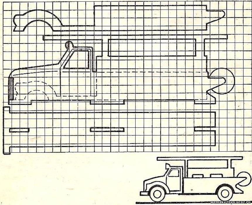 Машина из дерева своими руками чертежи фото 929