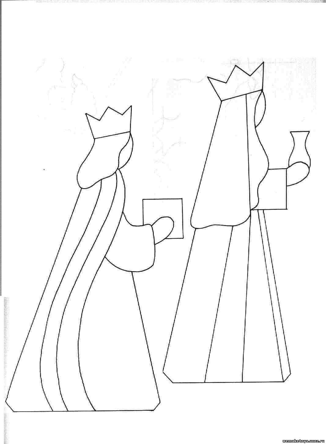 Вертеп рождественский своими руками шаблоны