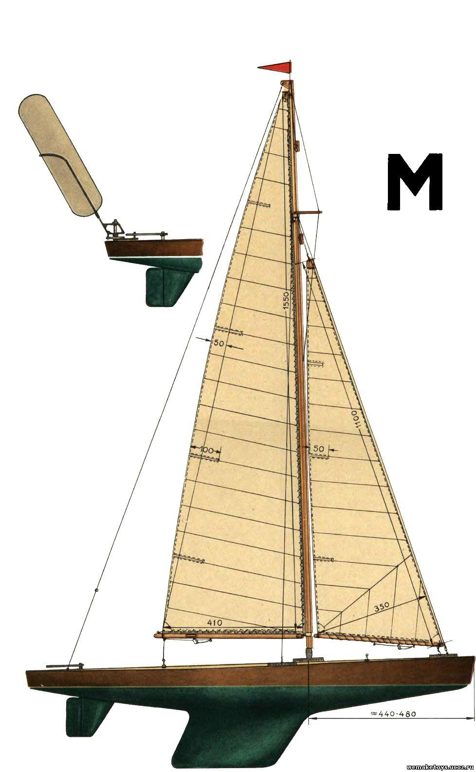 Своими руками модель яхты