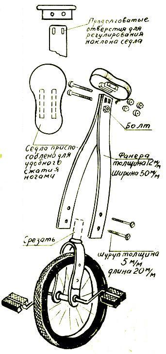 Одноколесный прицеп для велосипеда своими руками