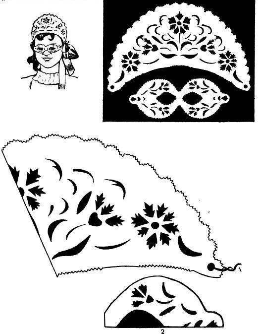 Как сделать кокошник из бумаги своими руками