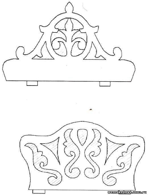 Чертеж салфетницы из фанеры своими руками чертежи 89