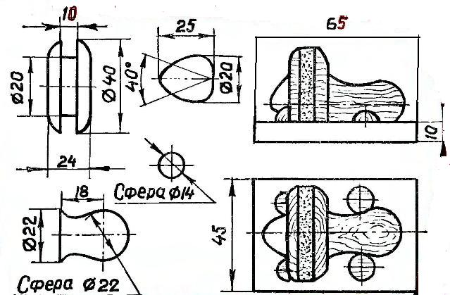 Поделки из дерева своими руками чертеж