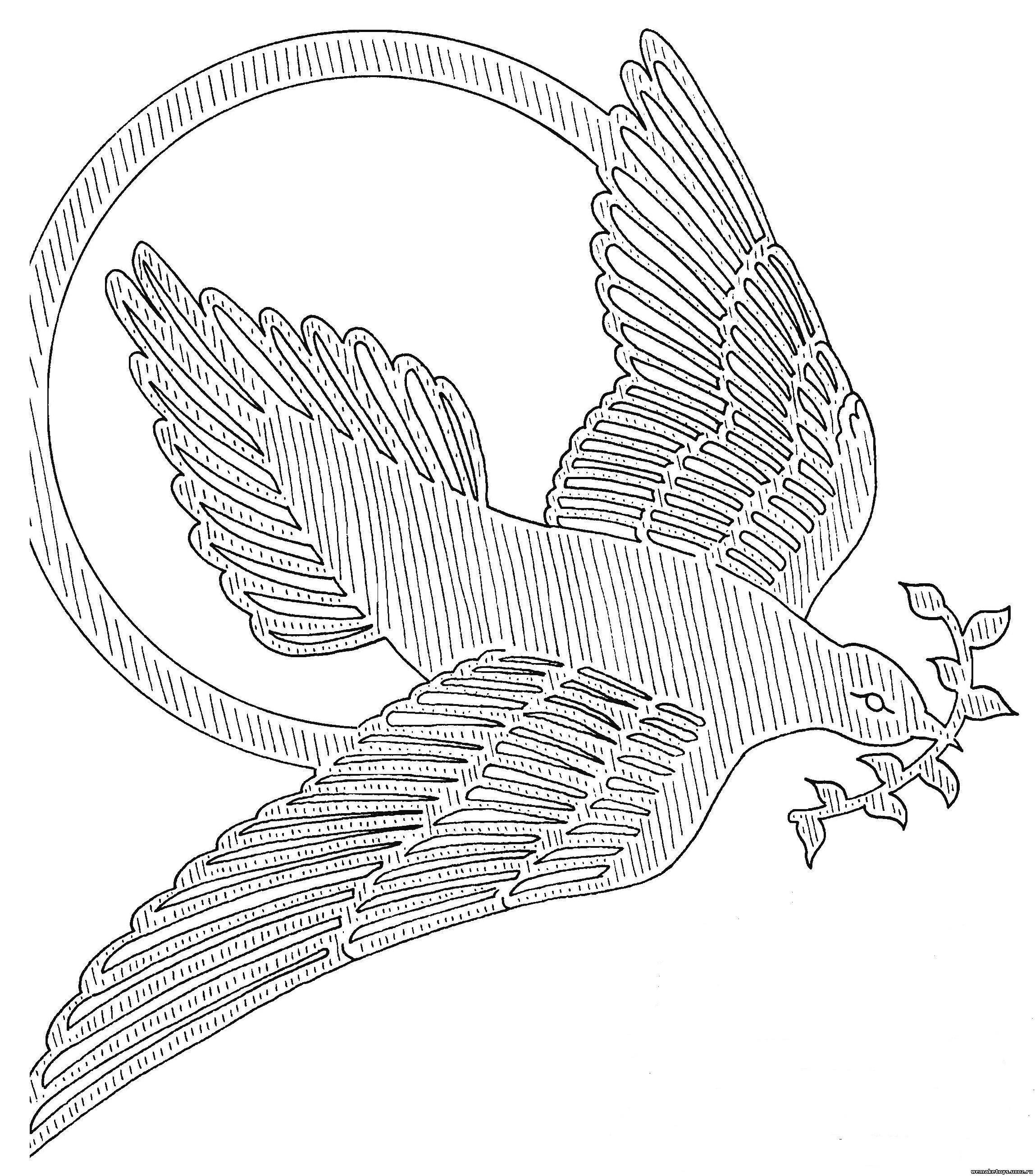 Птица из фанеры своими руками