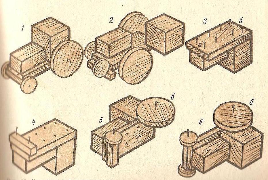 Поделки из дерева своими руками для 5