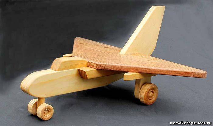 Как сделать своими руками самолет из дерева чтобы он летал