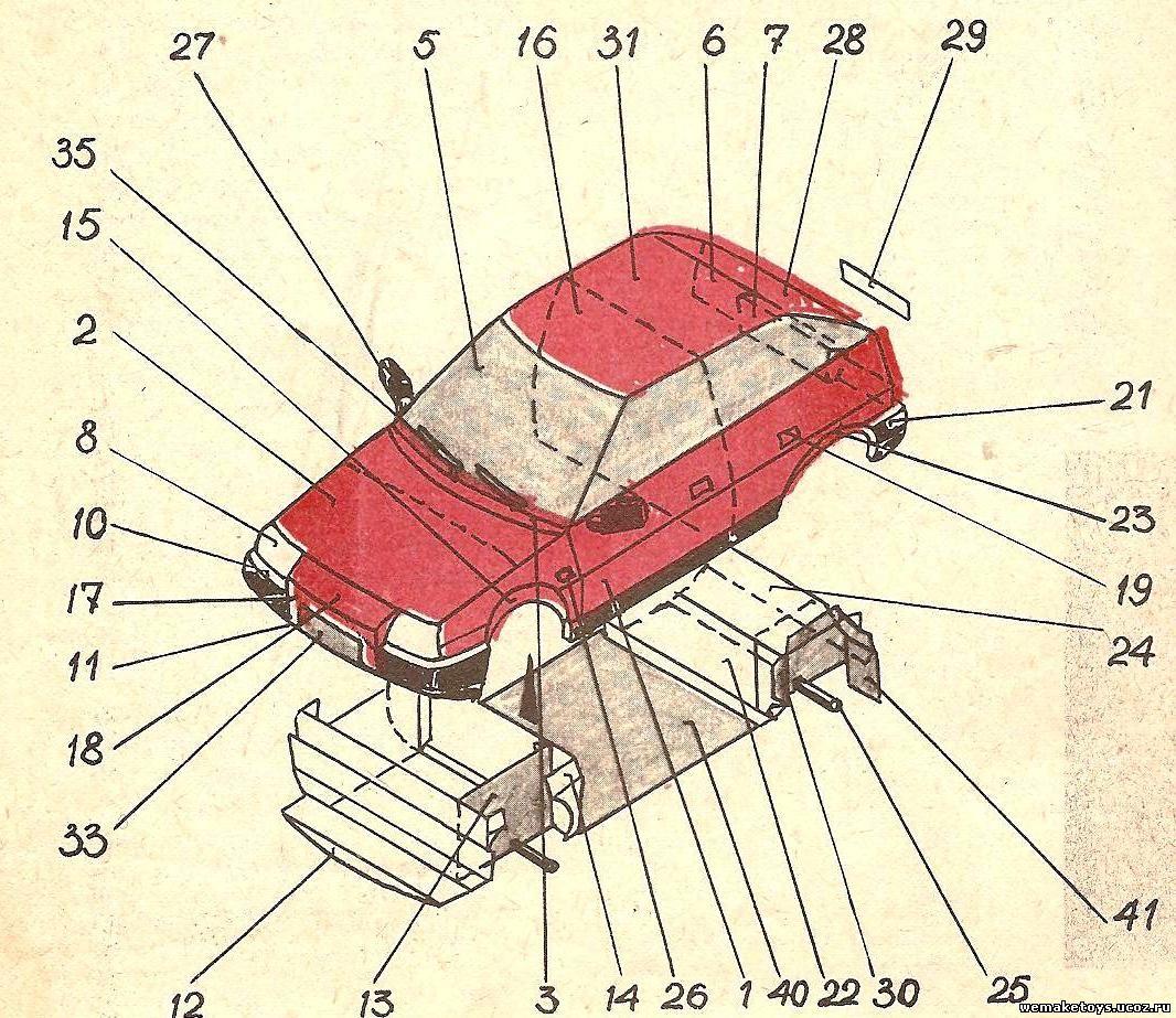 Поделки автомобиль своими руками