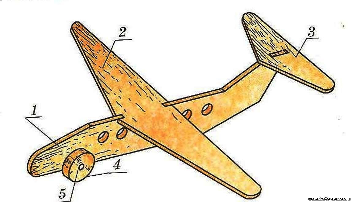 Самолеты из фанеры своими руками чертежи
