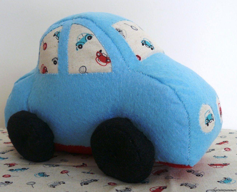 Как сшить машинку (мастер-класс по шитью мягкой игрушки, с)