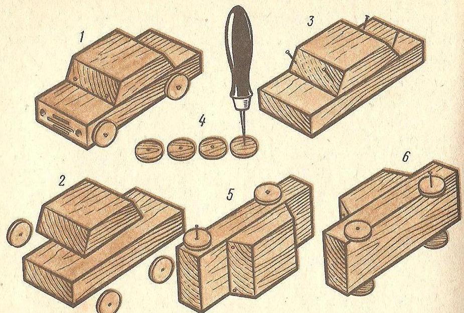 Чертежи поделок из дерева своими руками 138